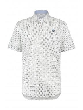 Shirt-with-a-minimalist-print---grey-blue/white