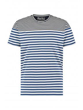 T-shirt-met-strepenprint