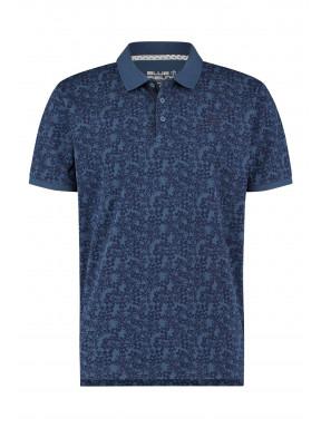Poloshirt-melange-of-cotton