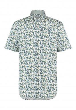 Katoenen-overhemd-met-borstlogo