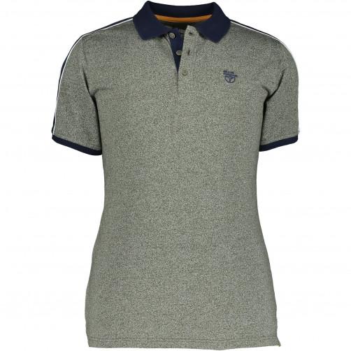 Poloshirt-met-gestreepte-details
