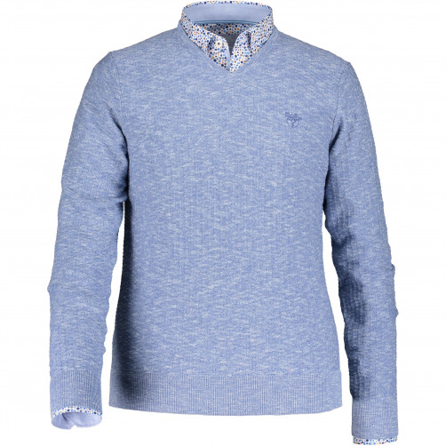Pullover-made-of-cotton