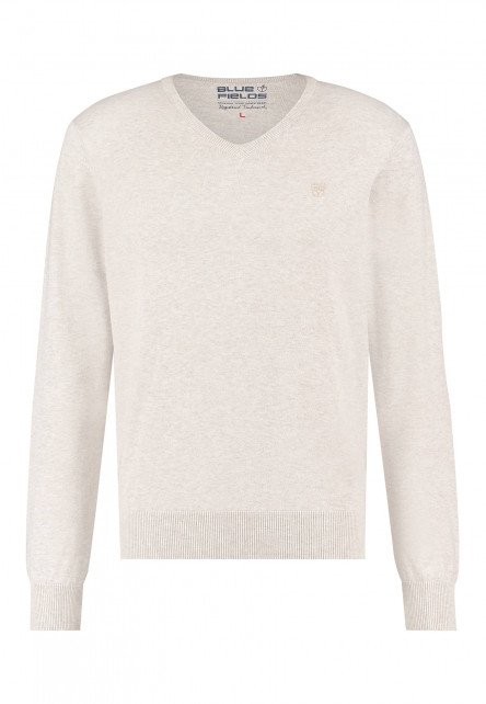 Pullover-of-recycled-polyester-mix