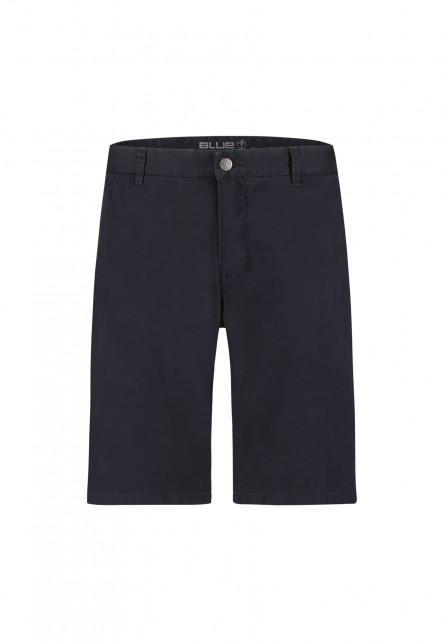 Shorts-with-regular-fit---dark-blue-plain