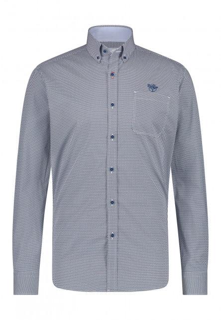 Shirt-Print---midnight/cobalt